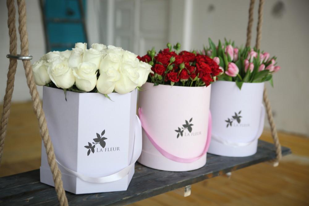 Коробки для цветов своими руками фото 47