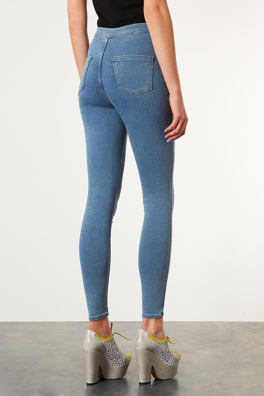 Как из обычных джинс сделать с завышенной талией