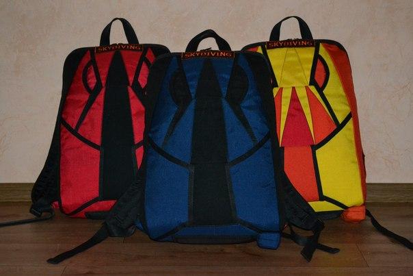 Рюкзаки под парашютный ранец рюкзак-сумка сшить