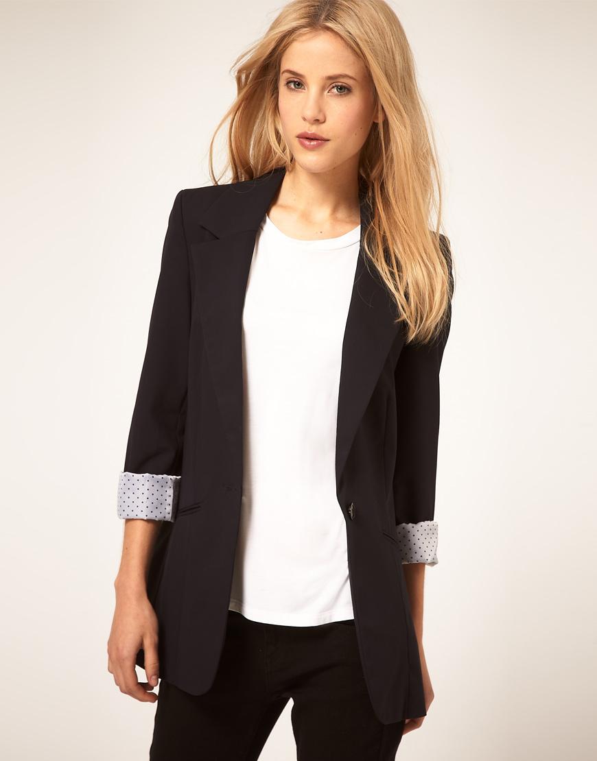 Длинные женские пиджаки