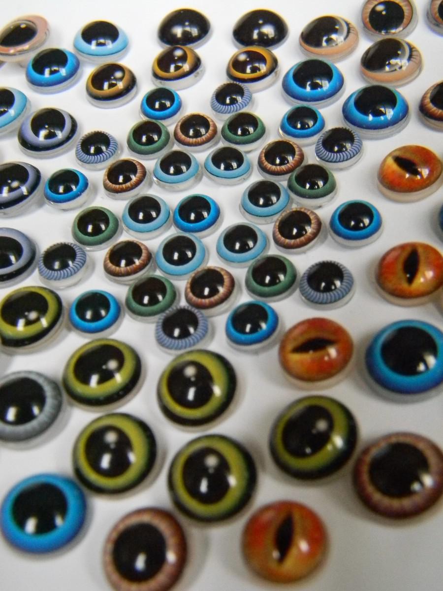 Своими руками глаза для игрушек
