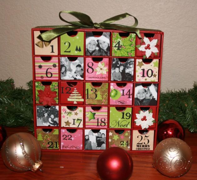 Календарик своими руками фото