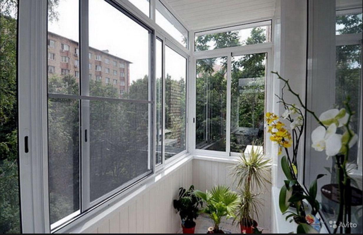 Типы алюминиевых профилей для теплого остекленения балкона..