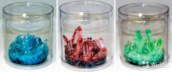 Как сделать в домашних условиях кристалл