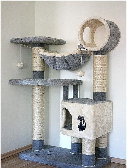 Домик для кошки своими руками пошаговая инструкция размеры