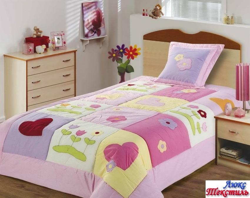 Детские покрывала на кровать для девочек своими руками