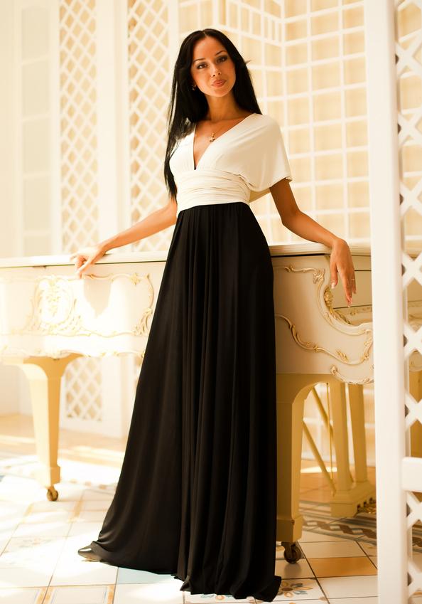 Фото красивых длинных платьев на день рождения