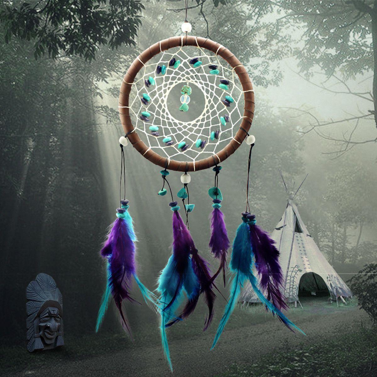 Ловец снов с перьями