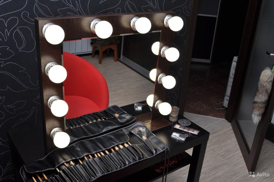 Как сделать зеркало для визажистов