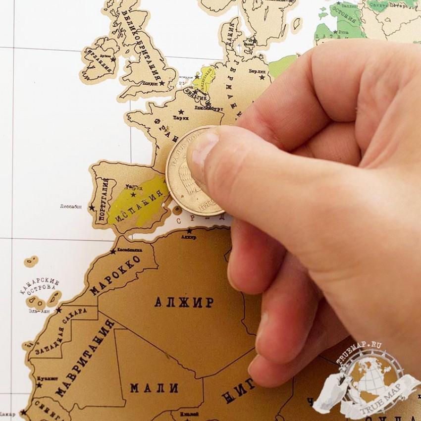 Своими руками карту путешественника