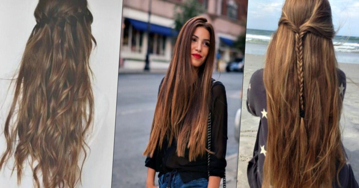 Как отпустить длинные волосы