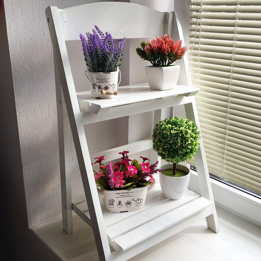 Стремянка подставка для цветов