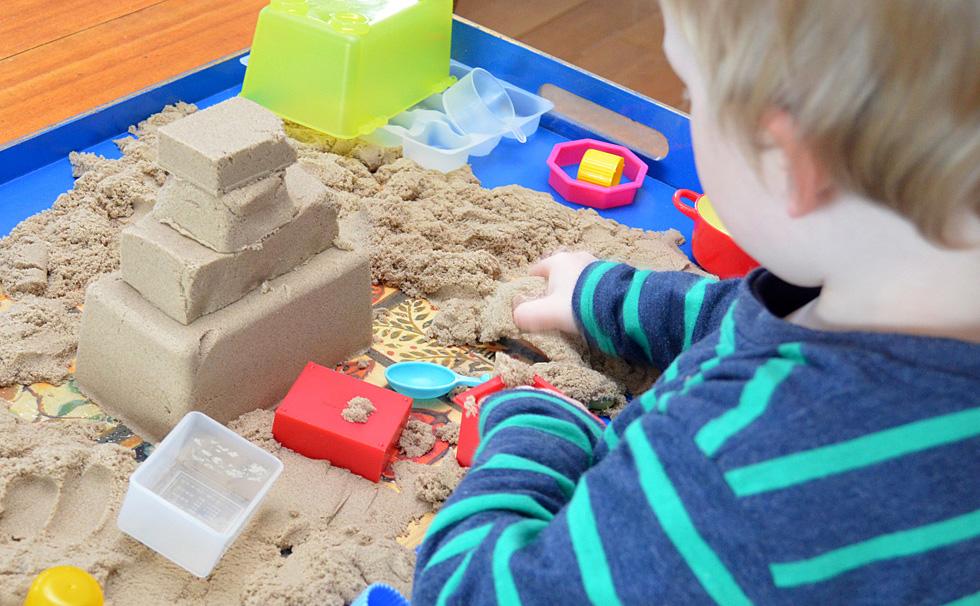 Кинетический песок что своими руками 892