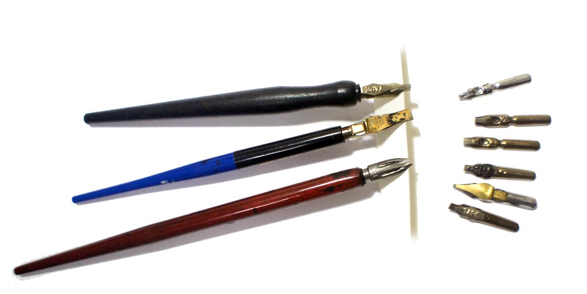 Ручки для каллиграфии своими руками