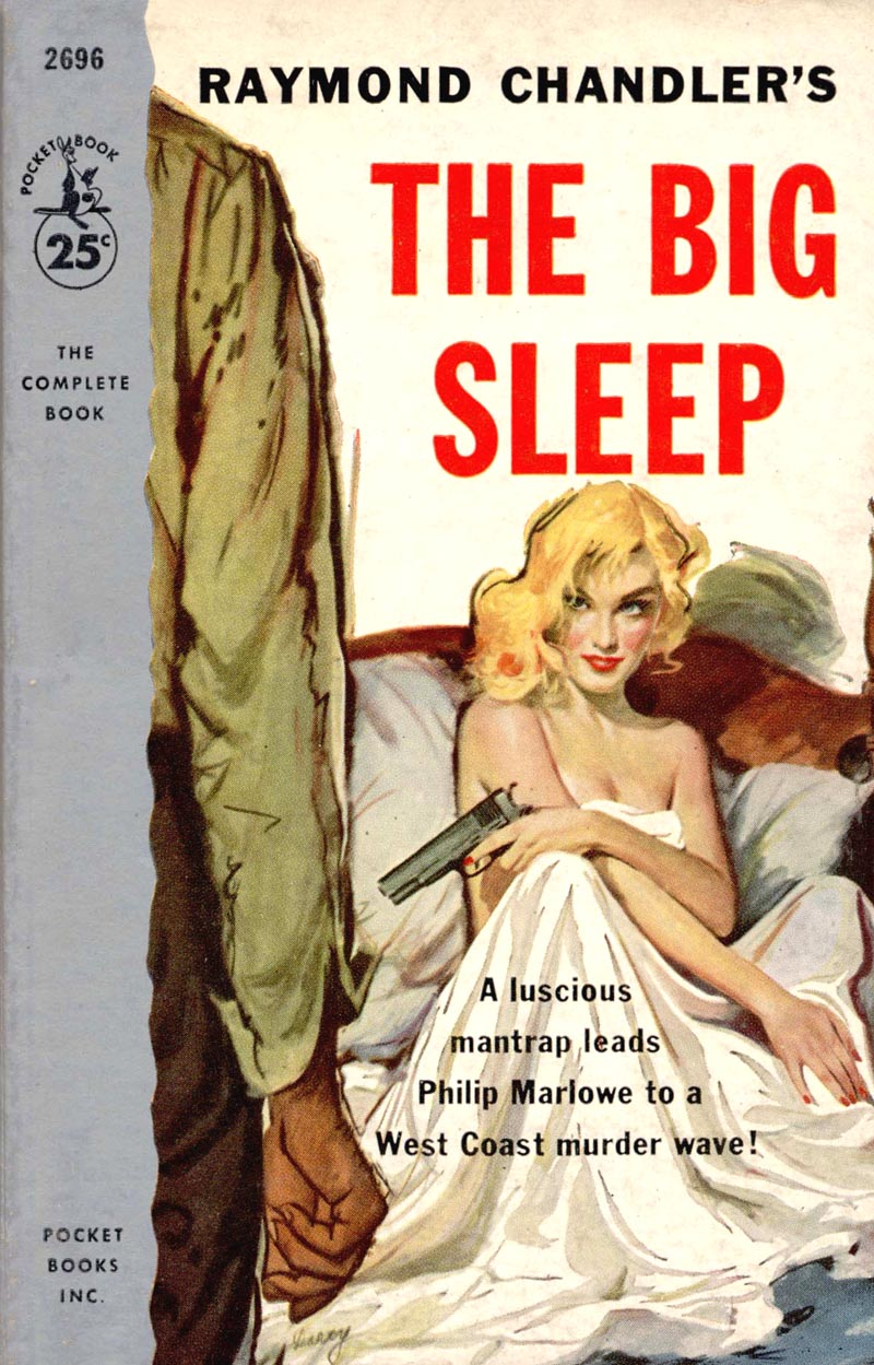 "the role of marlowes excessive drinking in the book the big sleep by raymond chandler Raymond chandler's star character, philip marlowe culture beyond bogart: 7 (other) faces of raymond chandler's philip marlowe and ""the big sleep."